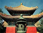 Chinese traditional pagoda, daytime