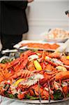 Platter of Lobster at Wedding Reception, Toronto, Ontario, Canada