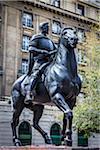 Equestrian Statue of Pedro de Valdivia, Plaza de Armas, Santiago, Chile