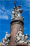 Statue, Plaza Mitre, Buenos Aires, Argentina