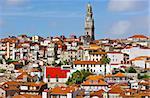 View to Historic Center City of Porto, Portugal