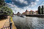 River Spree Embankment and Museum Island, Berlin, Germany