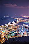 Busan, South Korea skyline.