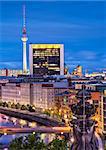 Cityscape of Berlin, Germany.