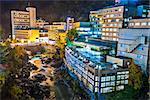 Hot Spring resort town of Jozankei, Hokkaido, Japan near Sapporo.