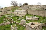 Ruins of ancient troy city, Canakkale (Dardanelles) / Turkey