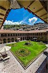 Courtyard at Hotel Monasterio, Cusco, Peru