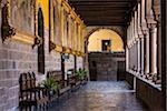Colonnade, Qurikancha, Convent of Santo Domingo, Cusco, Peru