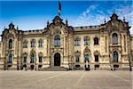 Government Palace of Peru (House of Pizarro), Plaza de Armas, Lima, Peru