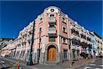 Buildings in Historic Centre of Quito, Ecuador