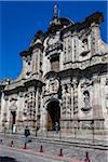 La Iglesia de la Compania de Jesus, Quito, Ecuador