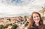 Portrait of young woman, Cagliari, Sardinia, Italy