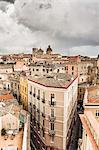 Apartment buildings, Cagliari, Sardinia, Italy