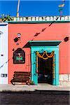 Decorated Doorway, Oaxaca de Juarez, Oaxaca, Mexico