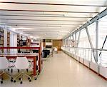 Modern library interior