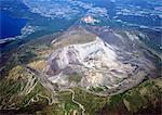 Mt. Usu And Mt. Showashin, Hokkaido, Japan