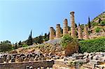 Apollon Temple, Delphi, Greece