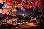Hikone Castle And Genkyuen, Shiga, Japan