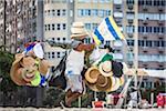 Hat Seller, Copacabana Beach, Rio de Janeiro, Brazil