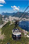 Cablecar up Sugarloaf Mountain, Rio de Janeiro, Brazil