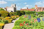 New Place garden, Stratford-upon-Avon, Warwickshire, England