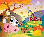 Autumn farm theme 7 - eps10 vector illustration.
