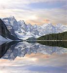 Moraine lake. Banff National park. Canadian Rockies.