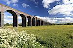 River Welland valley, Harringworth railway viaduct