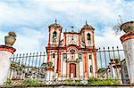 Nossa Senhora do Conceicao Church, Ouro Preto, UNESCO World Heritage Site, Minas Gerais, Brazil, South America