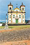Baroque Church of Sao Francisco de Assis, Praca de Minas Gerais, Mariana, Minas Gerais, Brazil, South America