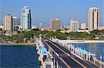 St. Petersburg skyline, Tampa, Florida, United States of America, North America