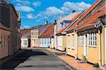 Row of Houses, Kerteminde, Fyn Island, Denmark