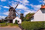 Windmill, Kerteminde, Fyn Island, Denmark