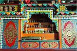 Interior view of Tibetan home