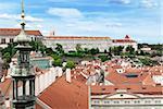 Prague Castle from the Saint Nicolas Church