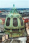 Dome of Municipal House of Prague from the Powder Tower. Prague, Czech Republic