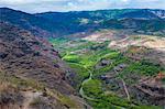 View over the Waimea Canyon, Kauai, Hawaii, United States of America, Pacific
