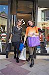 Women on shopping spree