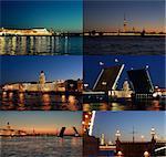White Nights in St. Petersburg. Russia.