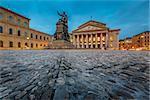 The National Theatre of Munich, Located at Max-Joseph-Platz Square in Munich, Bavaria, Germany