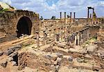 Cardo Maximus, Bosra, Syria, Middle East