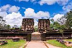 Parakramabahu's Royal Palace, Polonnaruwa, UNESCO World Heritage Site, Cultural Triangle, Sri Lanka, Asia