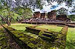 Ruins of Parakramabahu's Royal Palace, Polonnaruwa, UNESCO World Heritage Site, Cultural Triangle, Sri Lanka, Asia