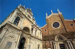 Scuola di San Marco and Santi Giovanni e Paolo, Venice, UNESCO World Heritage Site, Veneto, Italy, Europe