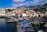 Camara de Lobos Harbour, Madeira, Portugal