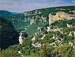 Ardeche Gorges, Roussillon, France