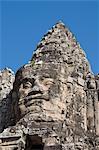 South Gate enterance to Angkor Thom, Siem Reap, Cambodia