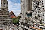 Wat Arun (Temple of the Dawn), Bangkok, Thailand, Southeast Asia, Asia