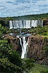 Foz de Iguazu (Iguacu Falls), the largest waterfalls in the world, Iguacu National Park, UNESCO World Heritage Site, Brazil, South America
