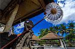Hindu temple detail , Bali Indonesia